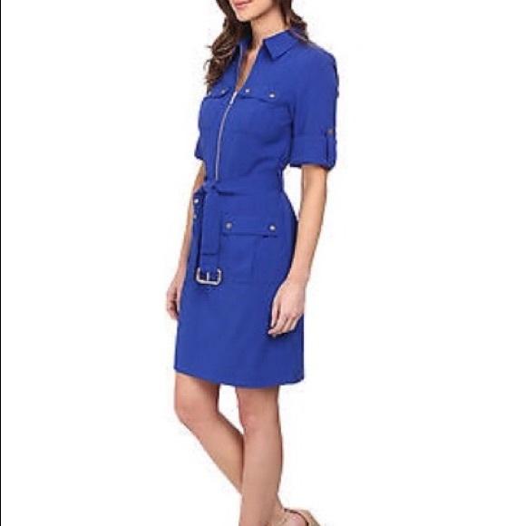 0c385753223 Michael Michael Kors Women s Lock Zip Shirtdress